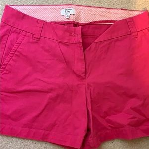 Hot pink Crown and Ivy shorts